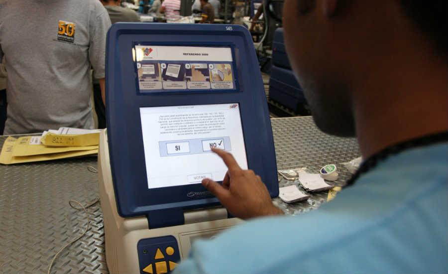 venezuela ya voto por el cambio