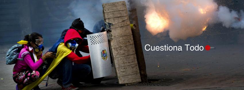 protestas en venezuela dictadura revista libertaria