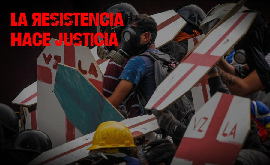 Solo La Resistencia Hace Justicia Ante La Represion