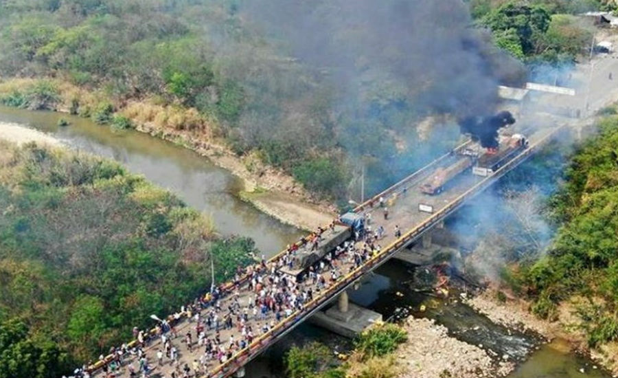 Los Comunistas En Venezuela Quemaron Ayuda Humanitaria Y Masacraron Indígenas if revista digital revista libertaria venezuela capitalismo libre mercado