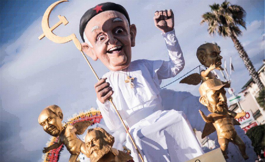 Socialismo Eclesiástico El Papa Francisco y su Devoción por el Comunismo cuestiona todo if revista digital revista libertaria capitalismo venezuela libertad